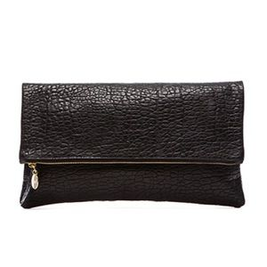 Brand new Clare V Black Pebble Clutch
